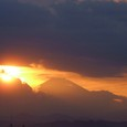 Fuji - a miracle of the sunlight and clouds
