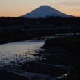 Fuji with Kaname River - reflection