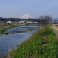 Fuji with Kaname River - late winter