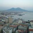 Golfo di Napoli ed il Vesuvio