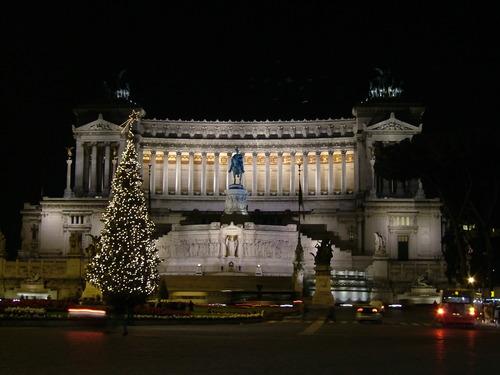 albero di Natale - Piazza Venezia